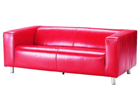 used red leather sofa ikea leather sofa karlstad sofa karlstad sofa feet ikea