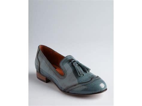 vita shoes dolce vita shoes bronx tassel flat in blue teal