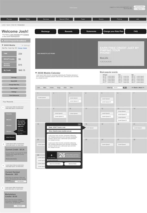 magazine layout wireframe 1000 images about rapid prototyping on pinterest