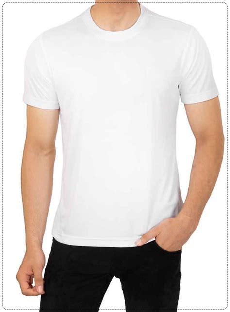 Tshirt Mens White Front white neck t shirt