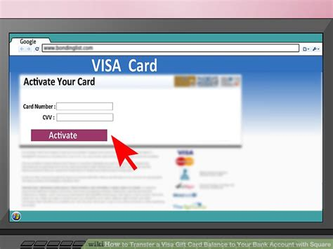 How To Check Balance Of Visa Gift Card - how to transfer a visa gift card balance to your bank account with square