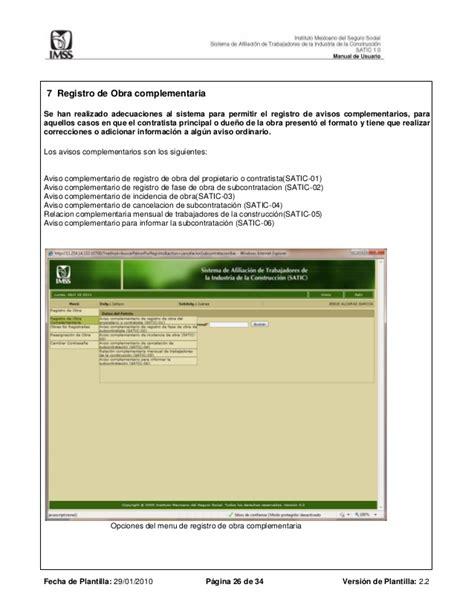 manual para llenar satic 02 satic 02 formato formato satic 02 manual satic manual