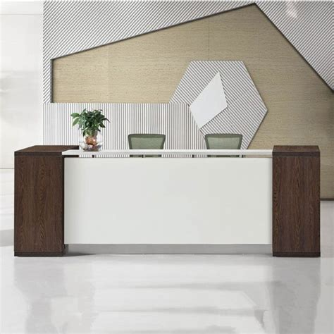 modern office reception desk excellent quality reception desk modern wood hospital