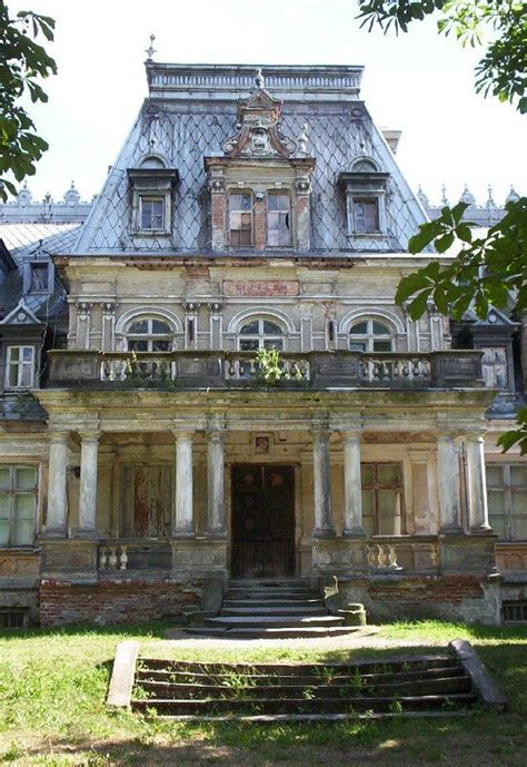 sobanski palace built in the 19th century in guz 243 w poland