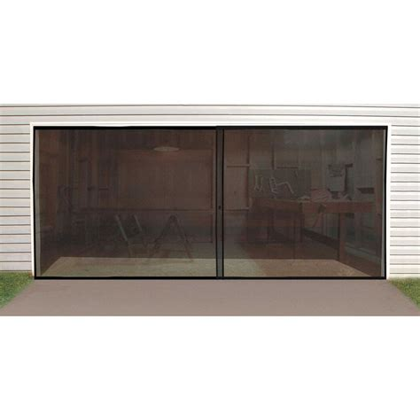 16 Foot Screen Door For Garage In Garage Accessories 16 Ft Garage Door