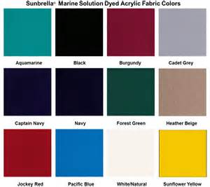 marine color sunbrella sunbrella marine colors