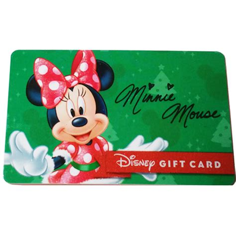 your wdw store disney collectible gift card 2015 holiday promo minnie mouse gift - Disney Gift Card Promotion