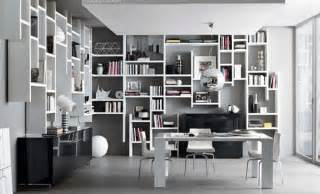 White Melamine Bookcase Wall Storage Book Shelves System Design Ideas For