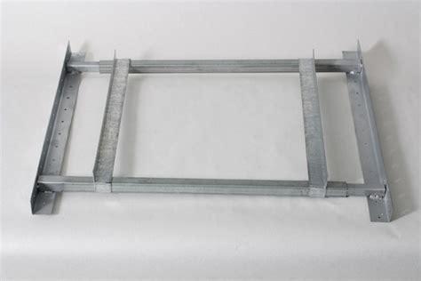 rack handler miami tech inc adjustable air handler wall bracket