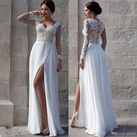 Cheap White Wedding Dresses by White Wedding Dresses 2015 Lace Bridal Gowns