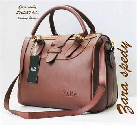 Tas Wanita Tas Import Zara Tas Branded Tas Kado 076 Coklat Cod Jogja tas branded zara spedy harga murah coklat