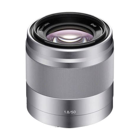 Sony Sel 50mm F1 8 Oss jual sony sel 50mm f1 8 oss lensa kamera silver