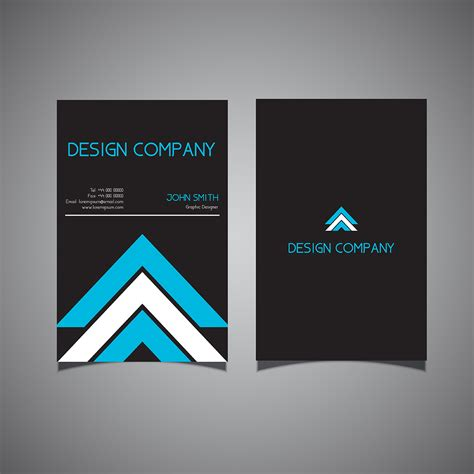 Https Www Vecteezy Free Vector Business Card Templates by Modern Business Card Design Free Vector