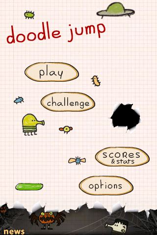 doodle jump juego doodle jump juego para iphone y ipod touch