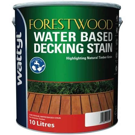 wattyl water based decking stain timber fences mitre