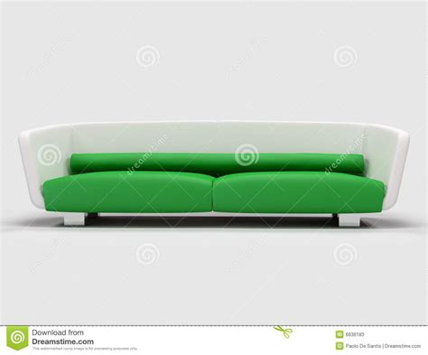 green and white sofa stock photos image 6636183
