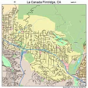 la canada map la canada flintridge california map 0639003