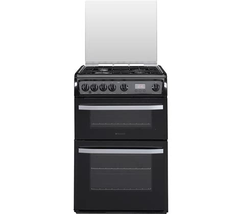 Oven Gas Ukuran 60 Cm buy hotpoint dsg60k 60 cm gas cooker black stainless