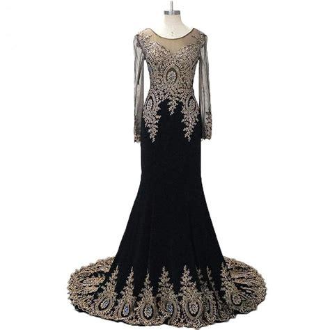 Dress Hitam Longdress Mini Dress Dress Wanita dress hitam gold fashion dresses