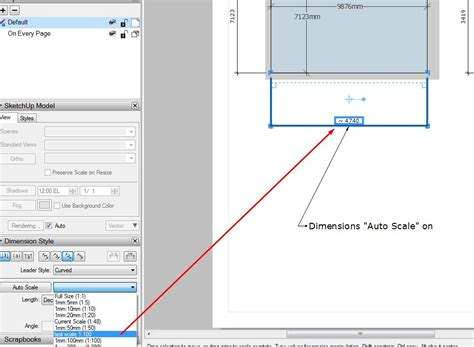 sketchup layout custom scale dimension scale bug in layout 2016 layout sketchup