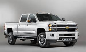 Chevrolet 2500hd 2015 Chevrolet Silverado 2500hd High Country