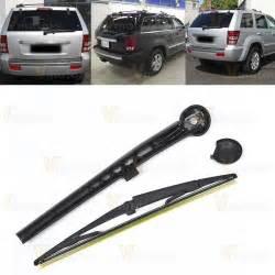 rear windshield wiper arm blade kit fit jeep grand