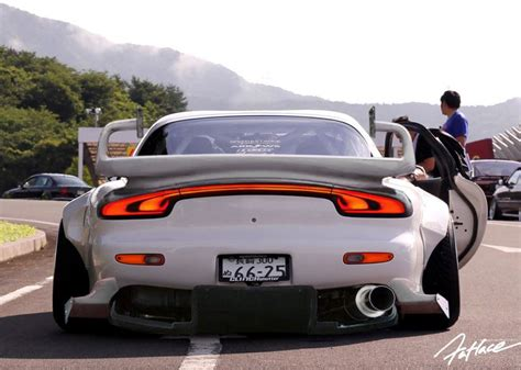mazda rx7 rocket bunny kit radracerblog mazda rx 7 fd rocket bunny my orange