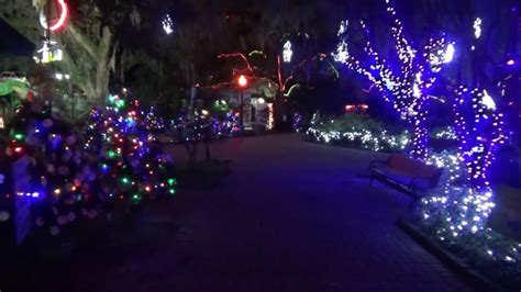 christmas lights new orleans city park 2016 youtube