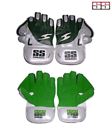 Test Product Ss ss test wicket keeping gloves buy at best price on snapdeal