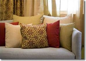 How To Clean Sofa Pillows How To Clean Throw Pillows Ehow