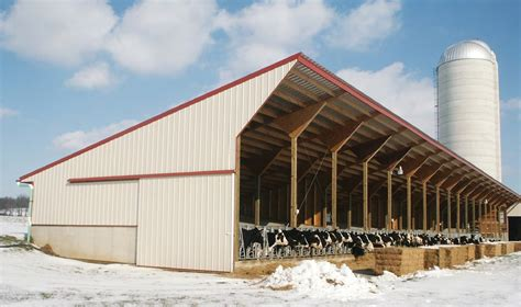 Barn Plans Designs dairy barn construction it s all in the planning farming