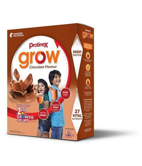 protinex powder protinex grow health drink powder 400 gm chocolate flavor