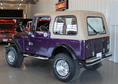 purple jeep cj cj7 build restoration 5 jk forum