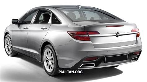 Proton Perdana by Rendered 2016 Proton Perdana In Eight Colours Image 392699