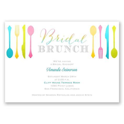 Baby Shower Brunch Invitation Wording by Bridal Brunch Bridal Shower Invitation Invitations By