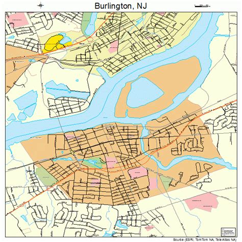 Burlington County Nj Records Burlington County Nj Map Images