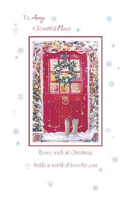 printable christmas cards for niece to a beautiful niece greeting card christmas printable