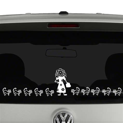 Make Your Own Vinyl Window Stickers stick figure family create your own vinyl decal sticker