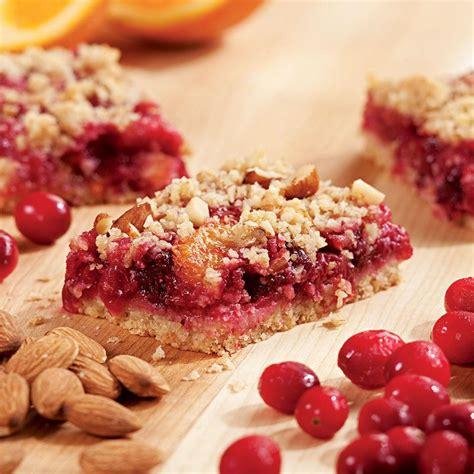 fruit bars cranberry orange fruit bars recipe eatingwell