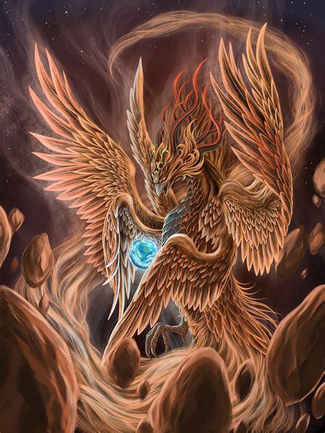 phoenix fire bird art exhibition gallery fonix madar galeria