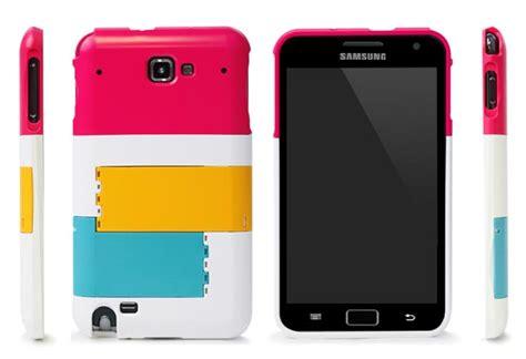 Casing Samsung Galaxy Note 2 Solar Beams Custom Hardcase Co mondrian galaxy note with phone stand gadgetsin