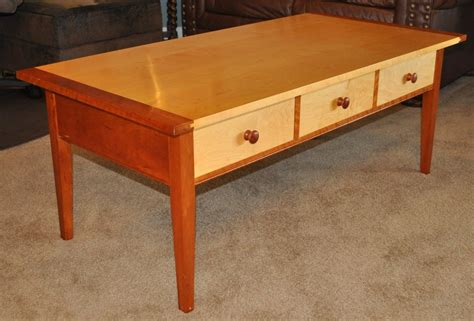 wooden shaker coffee table plan pdf plans