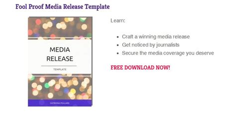 News Release Template New To Audio News Releases Follow These 10 Steps For Anr Success 46 Audio News Release Template