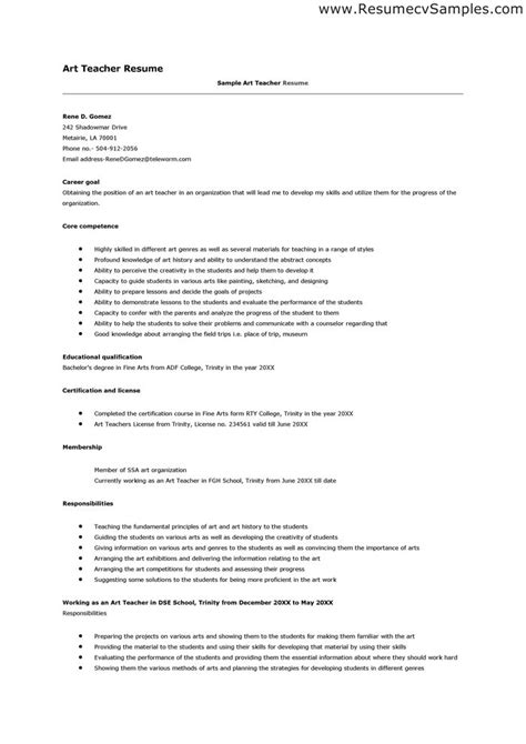 Resume Format Application Resume For Teachers Application Best Letter Sle