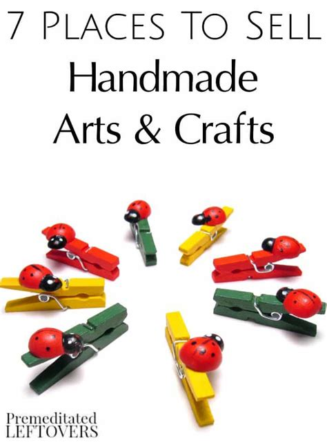Website To Sell Handmade Crafts - 7 places to sell handmade arts crafts premeditated