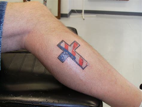 american flag cross tattoo american flag cross tattoos