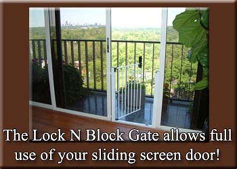 Lock N Block Sliding Door Gate By Cardinal Gates For Patio Door Gate