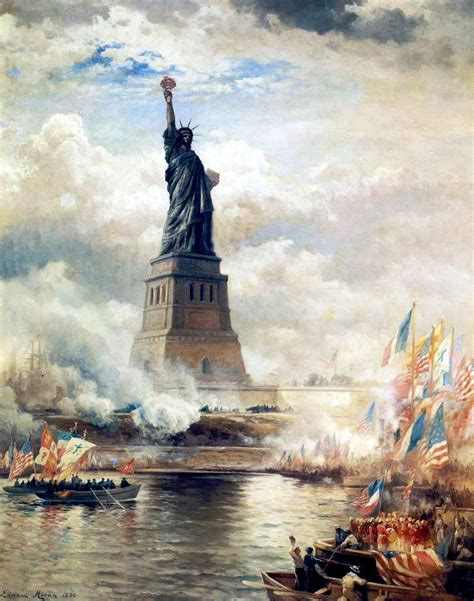 imagenes vintage libertad dedication statue of liberty 1886 ephemeral new york
