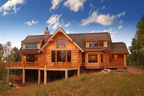 gorgeous homes in alpine chalet style country home แบบบ านโดยรวมของ บ านสไตล ค นทร