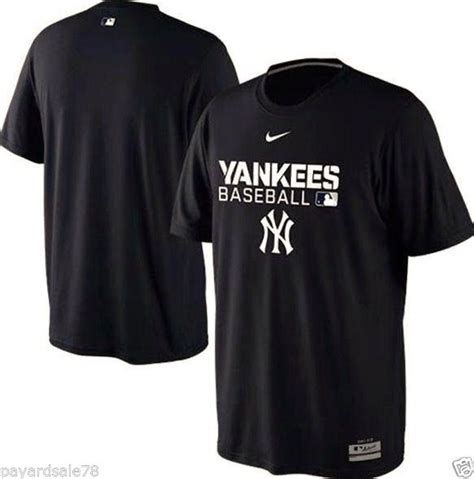 T Shirt Kaos Nike Yankees Baseball s size small nike yankees baseball dri fit t shirt new